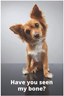 Have You Seen My bone?: Small Dog Notebook
