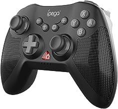 Romacci PG-SW020 Controlador de jogo sem fio de seis eixos para gamepad com Dual Shock Motors Joystick Triggers compatívei...
