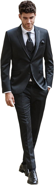 Kelaixiang 2pcs Formal Tuxedos Wedding Special sale item Black Men Suit Over item handling ☆ Sheer for