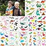 Kindertattoos, MOOKLIN Dinosaurier Tattoos Set Wasserdicht Aufkleber Flash Kleine Bögen Temporäre...