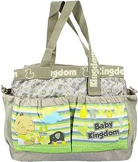 Baby Station Baby Diaper Nappy Changing Baby Bag Mummy Handbag (Beige)