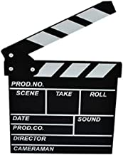 Wendin Wooden Clapboard Director Film Movie Cut Action Scene Slateboard Clapper Board Slate Black