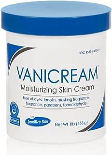 Vanicream Moisturizing Skin Cream for Sensitive Skin 16 oz (Pack of 3)