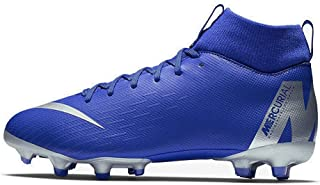 Nike JR Mercurial Superfly 6 Academy GS MG Soccer Cleat (Racer Blue) (3.5Y)