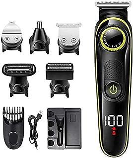 Detailed Professional Hair Clippers Cordless Haircut Hair Trimmer Adult Hair Cutting Machine Styling Trimmer Electric Hair Clipper Cordless Razor Men's Beard Haircut Razor Nose Trimmer Multif. Durab