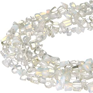 wanjin Nice White Opal Chips Beads 5~8mm 34 Inches per strand For Jewelery Making