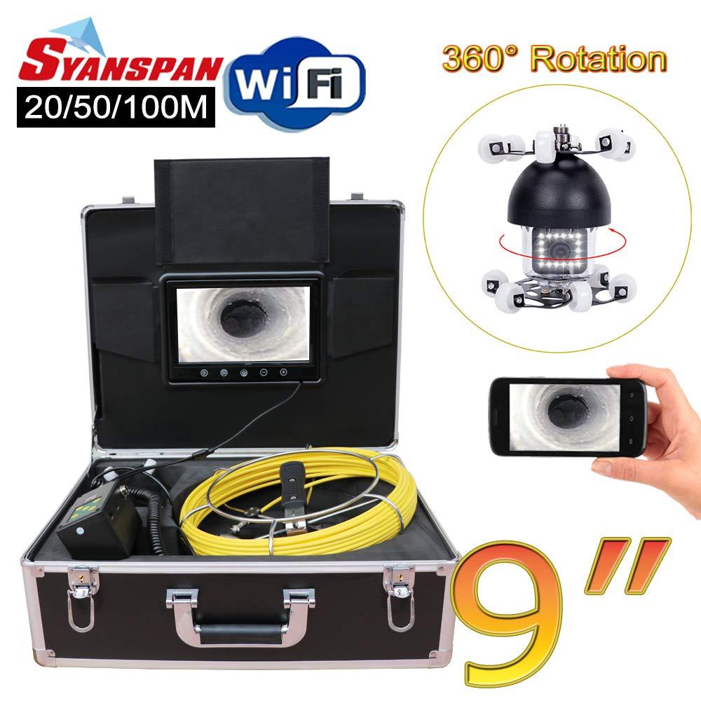 Wireless WiFi Pipe Inspection service Camera Degree 360 5 ☆ very popular SYANSPAN Rotatio