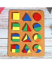 Geometrie Vorm Cognitie Speelgoed Zeer simulatie Vorm Cognitiebord, voor kinderen(Geometric shape recognition board)