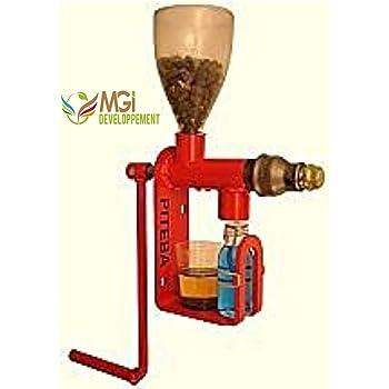 Mini prensa de frutas de acero inoxidable 5 litros: Amazon.es ...
