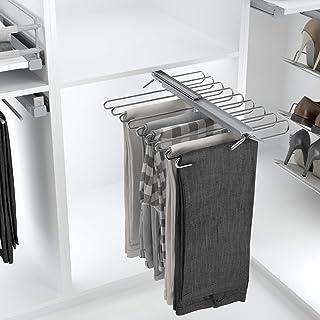 comprar comparacion Casaenorden - Pantalonero extraíble Reversible - 9 ó 11 Pantalones - Perchero para Pantalones - para 9 Pantalones