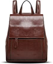 authentic leather backpack