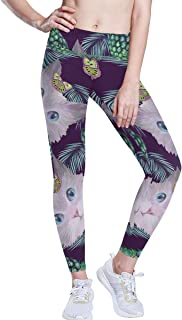 Donna Leggings in strisce LA TIGRE stampato Leggings Elastico Leggings S-4XL 17