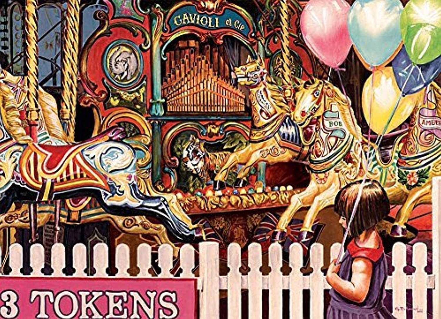 Three Tokens Required, A 1000 Piece Jigsaw Puzzle by Cobble Hill by Cobble Hill