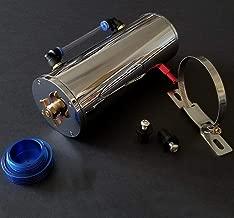 K-MOTOR PERFORMANCE engine Aluminum coolant overflow tank - polished chrome coolant reservoir tank - radiator water coolant reservoir bottle recovery tank