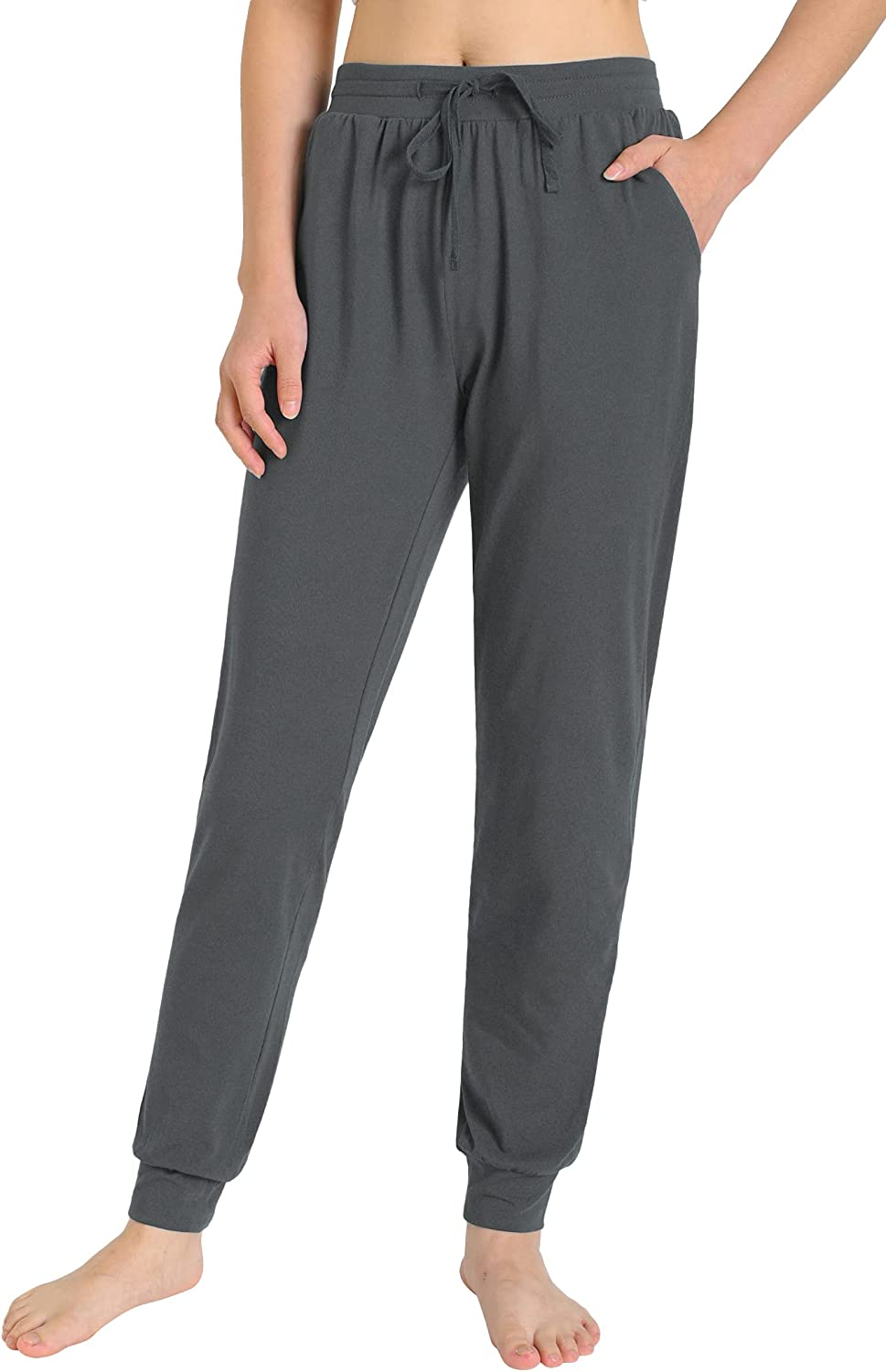 Weintee Women's Workout Joggers Athletic Sweatpants with Pockets