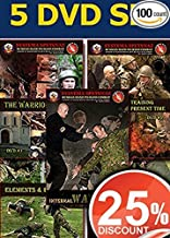 SELF DEFENSE TRAINING DVDS - Martial Arts Instructional Videos of Russian Martial Art System - Close Hand-to-Hand Combat 5 DVD set – 25% OFF