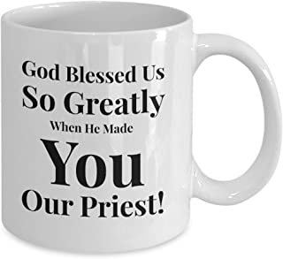 Gift Idea For Priest, Catholic or Christian - Appreciation -