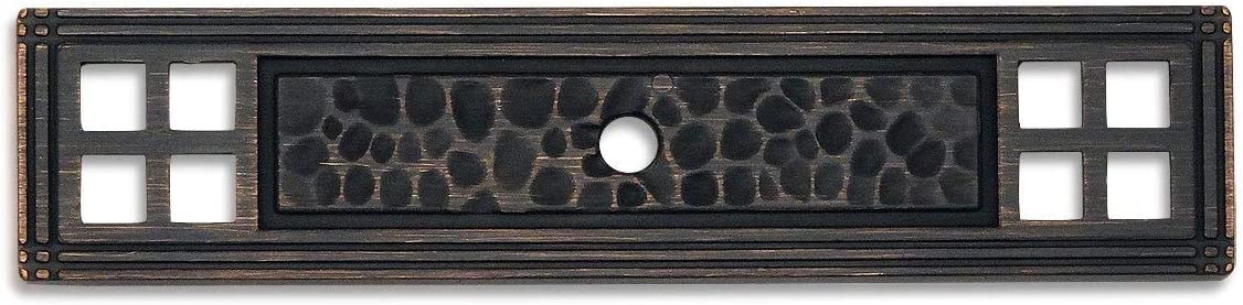 25 At the price Pack - Cosmas 10552ORB Oil Rubbed Kno Bronze 2021 model Hammered Cabinet