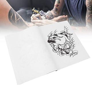 Praktisch tattoo-boek, Hannya-patroon 50-delig lichaamstattoo-boek, voor tattoo-artiest persoonlijk gebruik tattoo-liefheb...