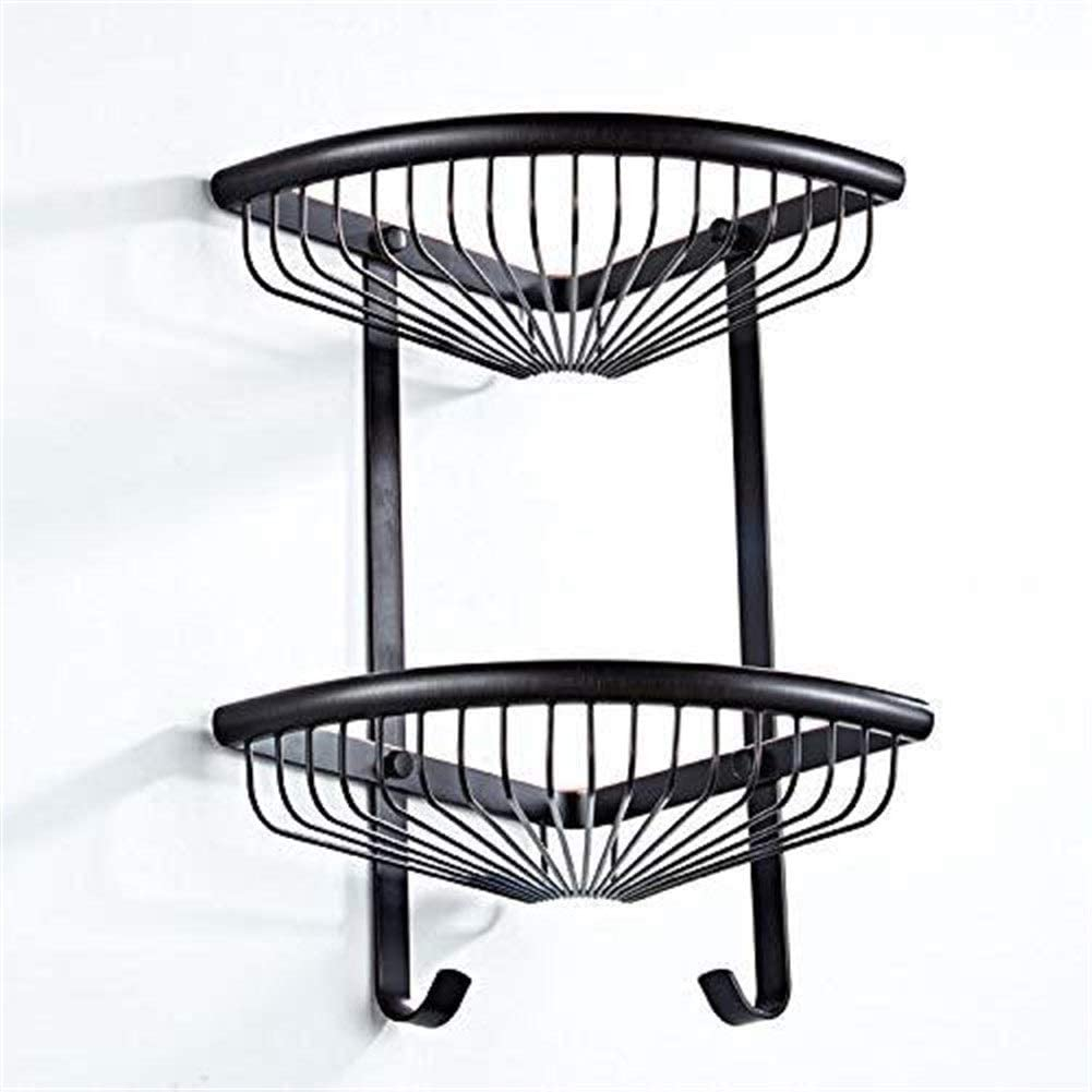 Opening large release sale ZUQIEE Storage Basket Shelf European Black Bronze Tripod S Courier shipping free shipping Brass