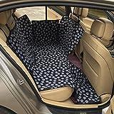 Geepro Waterproof Pet Dog Car Hammock Back Seat Cover Protection Blanket (Black)