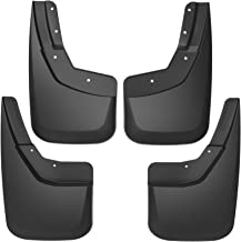 OEDRO Upgraded Front Rear Mud Flaps Compatible with 2014-2018 Chevy Silverado 1500 & 2015-2018 2500 HD / 3500 HD without OEM Fender Flares Only, Full Set 4pc Splash Mud Guards