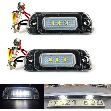 ACAMPTAR Alloggiamento Luce Targa Un LED Set per Mercedes W164 W251 GL