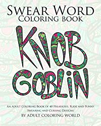 swear word coloring book - knob goblin