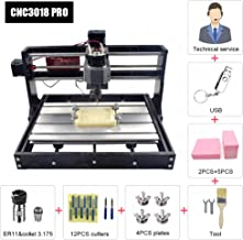 Upgrade Version CNC 3018 Pro Engraving Machine,3 Axis GRBL Control Acrylic Wood Carving Milling Machine,XYZ Working Area 300x180x45mm