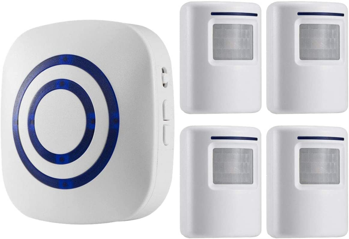 excellence Seanme Motion Sensor Alarm Securi Wireless Driveway Home Clearance SALE Limited time