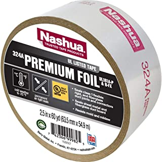 Nashua Duct Tape Foil Air Professional 4.8 Mil 60 Yd. Aluminum Meets Ul 181 Silver
