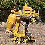 JY&WIN RC Fire Truck Radio Remote Control Rescue RC es el Mejor camión de Cemento de Juguete, Regalo de cumpleaños para niños y niñas de 3 a 12 años