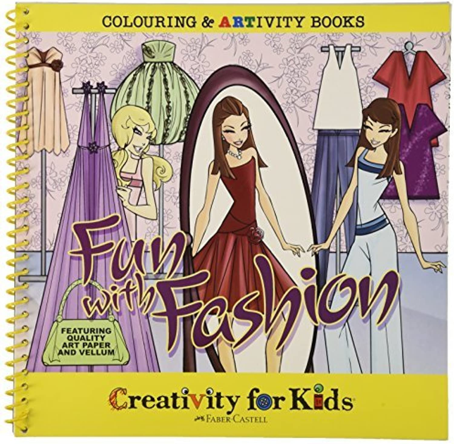 Creativity For Kids Artivity Book Fun with Fashion by Creativity for Kids