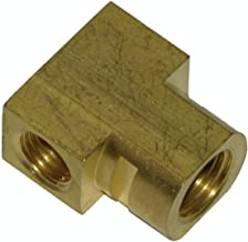 Inline Tube Compatible with 1964-1970 Rear Flex Brake Line Hose Brass Tee Block with w Slot Axle End Housing (E-3-8)
