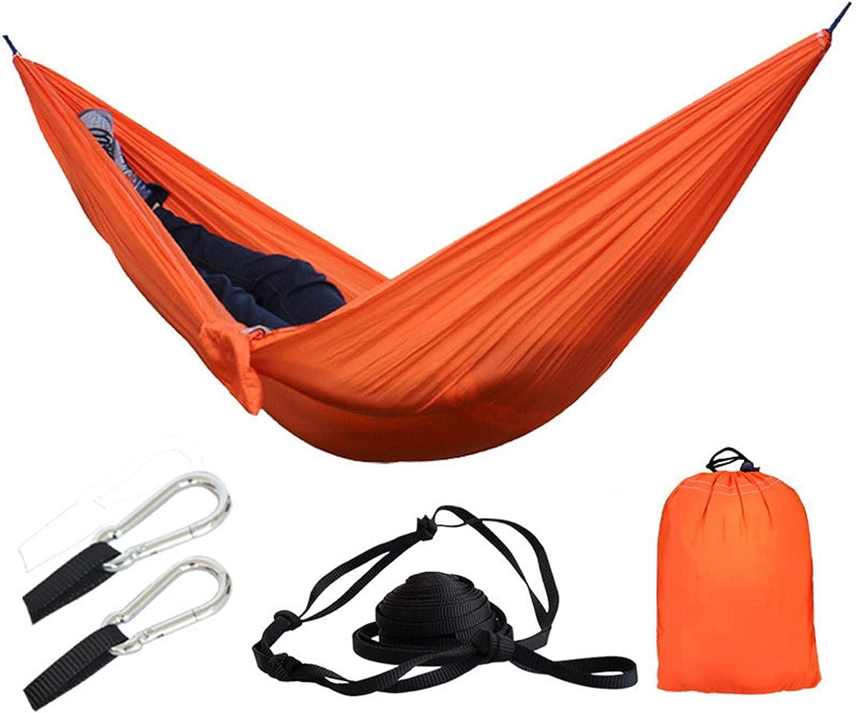 QQAA Camping hammocks Portable Charlotte Mall outlet Parachute Hamm Camouflage Hammock