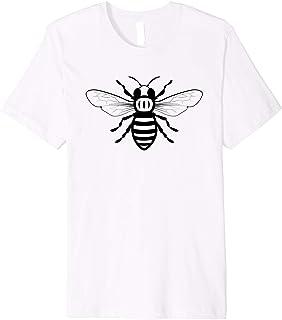 Manchester Worker Bee Proud Mancunian Premium T-Shirt