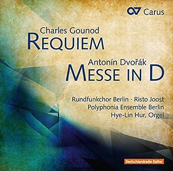 Gounod: Requiem - Dvořák: Mass in D Major