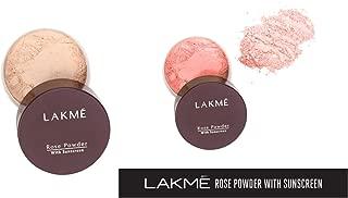 Lakme Rose Face Powder, Soft Pink, 40g & Lakme Rose Face Powder, Warm Pink, 40g