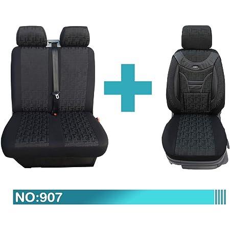Maß Sitzbezüge Kompatibel Mit Fiat Ducato Typ 250 1 2 Fahrer Mit Doppelsitzbank Ab Bj 2006 2013 Farbnummer 128 Baby