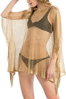 5877d9f2e4b34 Amazon.com: Golds - Cover-Ups / Swimsuits & Cover Ups: Clothing ...