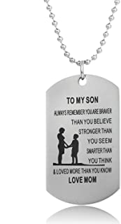 Always Remember You are Braver Than You Believe Father Mom to Son Daughter