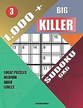 1,000 + Big killer sudoku 6x6: Logic puzzles medium - hard levels