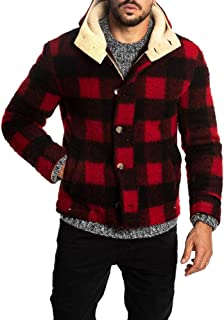 peacoat with flannel