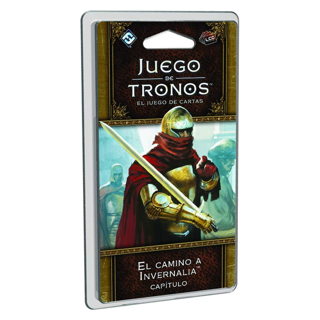 Juego de Tronos - El camino a Invernalia, juegos de cartas (Edge Entertainment EDGGT03) , color/modelo surtido: Amazon.es: Juguetes y juegos