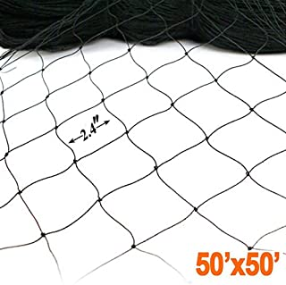 ZL 50' X 50' Net Netting for Bird Poultry Aviary Game Pens New 2.4
