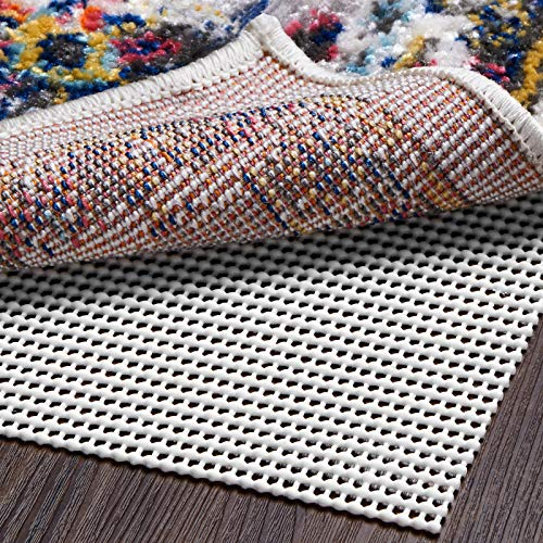 Ophanie Non-Slip Rug Pad Gripper 8x10 Extra-Thick Pad Gripper for Hard Surface Floors, Keep Your Rugs Safe and in Place