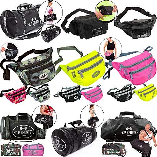C.P. Sports heuptas/sporttas/duffle bag, bodybuilding crossfit training fitness gym sport outdoor vakantie camping fietsen, multifunctioneel voor mannen en vrouwen