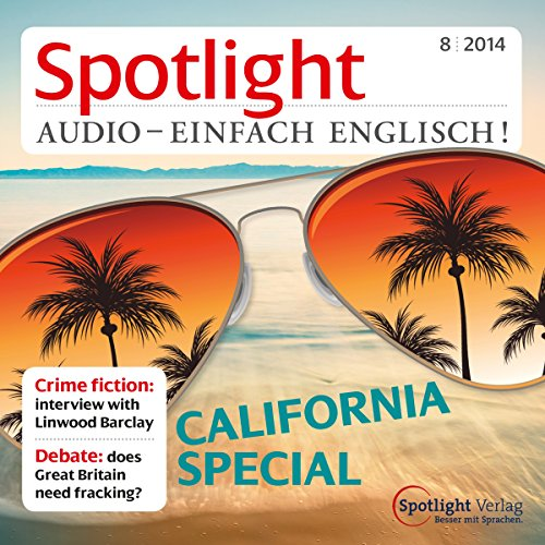 Spotlight Audio - California special. 8/2014 Titelbild