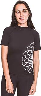 Expo 2020 Dubai Logo Ladies Rashguard - Short Sleeve