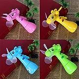 Feitb Kinderspielzeug Handventilator Tragbare Kinder Spielzeug Hand Mini Fan Handheld Keine Batterie Für Kühlung (Zufällige Farbe)